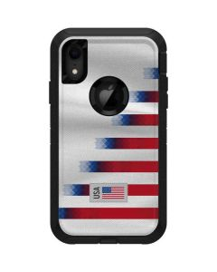USA Soccer Flag Otterbox Defender iPhone Skin