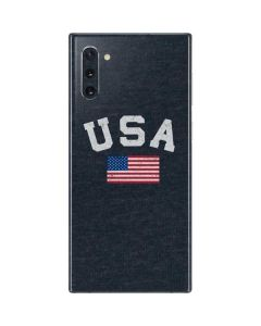 USA with American Flag Galaxy Note 10 Skin