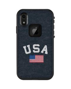 USA with American Flag LifeProof Fre iPhone Skin