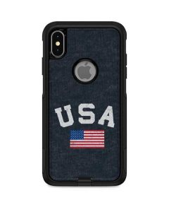 USA with American Flag Otterbox Commuter iPhone Skin