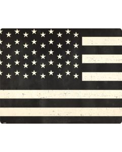 Black & White USA Flag Apple MacBook Pro Skin