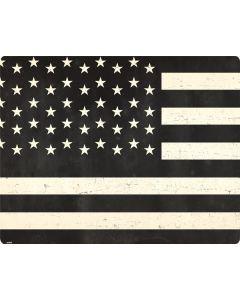 Black & White USA Flag Roomba i7+ with Dock Skin