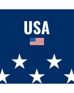USA Flag Stars PlayStation 4 Gold Wireless Headset Skin