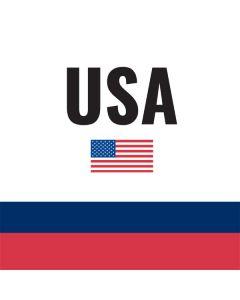 USA American Flag Roomba i7+ with Dock Skin