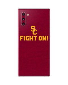 USC Fight On Galaxy Note 10 Skin