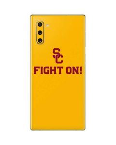 USC Fight On Gold Galaxy Note 10 Skin
