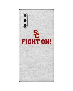 USC Fight On Grey Galaxy Note 10 Skin