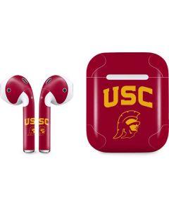 USC Trojan Logo Apple AirPods Skin