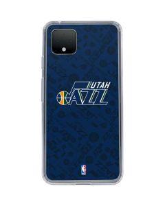 Utah Jazz Blast Google Pixel 4 Clear Case