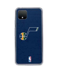 Utah Jazz Blue Texture Google Pixel 4 Clear Case