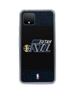 Utah Jazz Dark Elephant Print Google Pixel 4 XL Clear Case