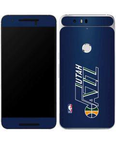 Utah Jazz Large Logo Google Nexus 6P Skin