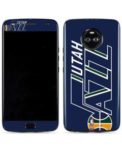 Utah Jazz Large Logo Moto X4 Skin