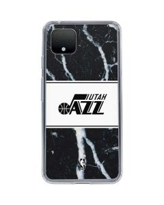 Utah Jazz Marble Google Pixel 4 XL Clear Case