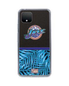 Utah Jazz Retro Palms Google Pixel 4 XL Clear Case