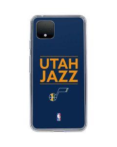 Utah Jazz Standard - Blue Google Pixel 4 XL Clear Case