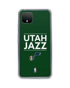 Utah Jazz Standard - Green Google Pixel 4 XL Clear Case
