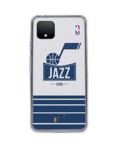 Utah Jazz Static Google Pixel 4 XL Clear Case