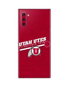 Utah Utes Est 1850 Galaxy Note 10 Skin