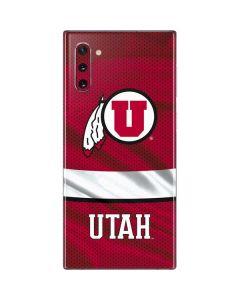 Utah Utes Galaxy Note 10 Skin