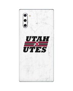 Utah Utes Italicized Galaxy Note 10 Skin