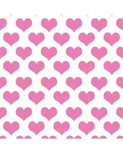 Plush Pink Hearts Apple MacBook Pro Skin