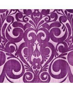 Heart Purple Galaxy Book Keyboard Folio 12in Skin
