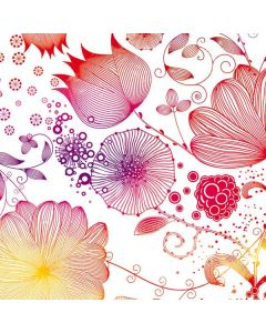 Elegant Flowers Generic Laptop Skin