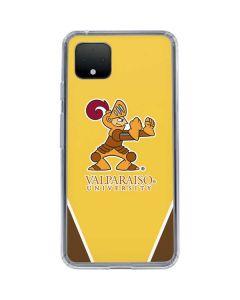 Valpo Gold Google Pixel 4 Clear Case