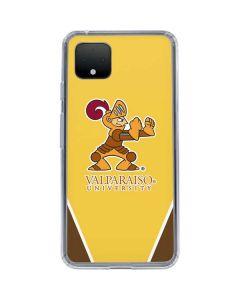 Valpo Gold Google Pixel 4 XL Clear Case