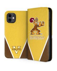Valpo Gold iPhone 11 Folio Case