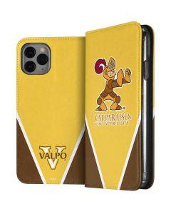 Valpo Gold iPhone 11 Pro Folio Case