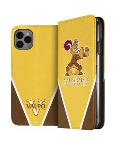 Valpo Gold iPhone 11 Pro Max Folio Case