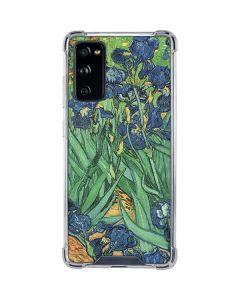 van Gogh - Irises Galaxy S20 FE Clear Case