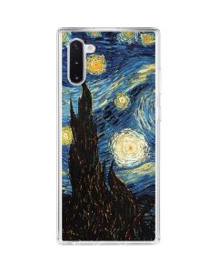 van Gogh - The Starry Night Galaxy Note 10 Clear Case
