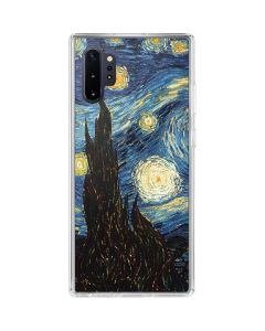 van Gogh - The Starry Night Galaxy Note 10 Plus Clear Case