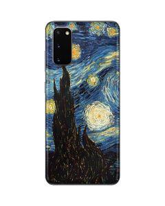 van Gogh - The Starry Night Galaxy S20 Skin