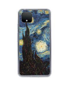 van Gogh - The Starry Night Google Pixel 4 Clear Case