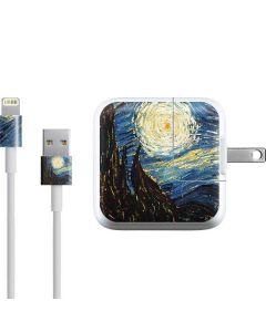 van Gogh - The Starry Night iPad Charger (10W USB) Skin