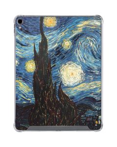 van Gogh - The Starry Night iPad Pro 12.9in (2018-19) Clear Case