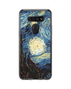 van Gogh - The Starry Night LG K51/Q51 Clear Case