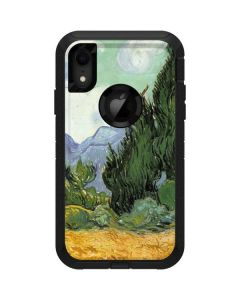 van Gogh - Wheatfield with Cypresses Otterbox Defender iPhone Skin