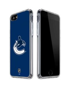 Vancouver Canucks Distressed iPhone SE Clear Case