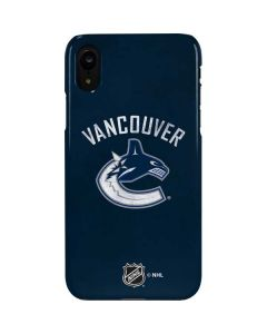 Vancouver Canucks Distressed iPhone XR Lite Case