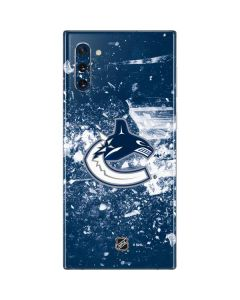 Vancouver Canucks Frozen Galaxy Note 10 Skin