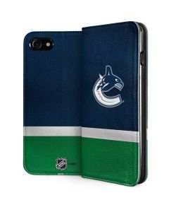 Vancouver Canucks Jersey iPhone SE Folio Case