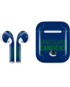 Vancouver Canucks Lineup Apple AirPods Skin