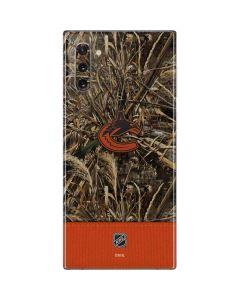 Vancouver Canucks Realtree Max-5 Camo Galaxy Note 10 Skin