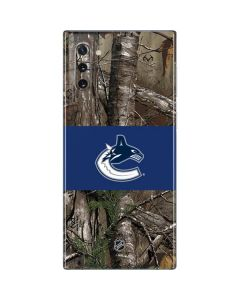 Vancouver Canucks Realtree Xtra Camo Galaxy Note 10 Skin