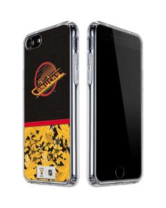 Vancouver Canucks Retro Tropical Print iPhone SE Clear Case
